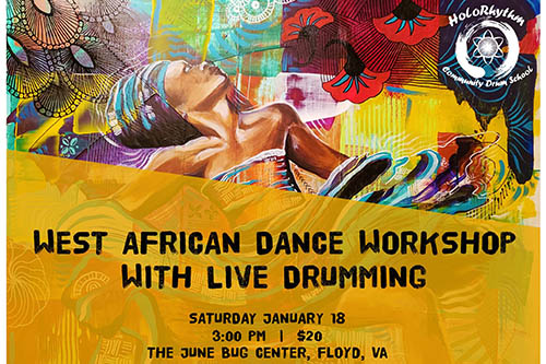 1/18: African Dance Workshop