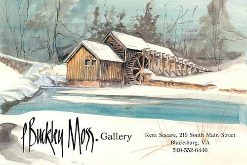 P. Buckley Moss in Blacksburg