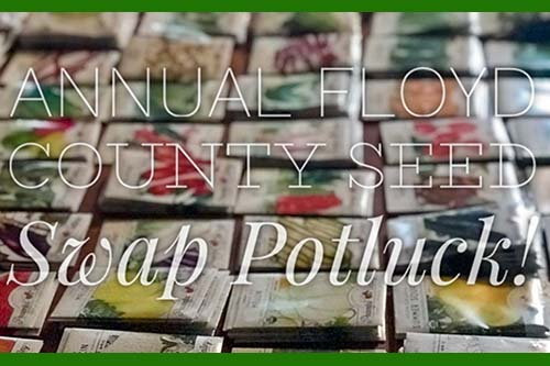 2/1: Seed Swap and Potluck