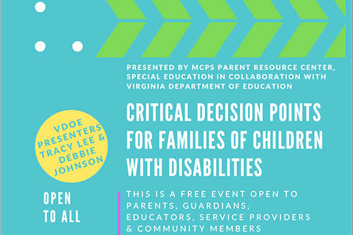 3/25: Critical Decision Points Seminar