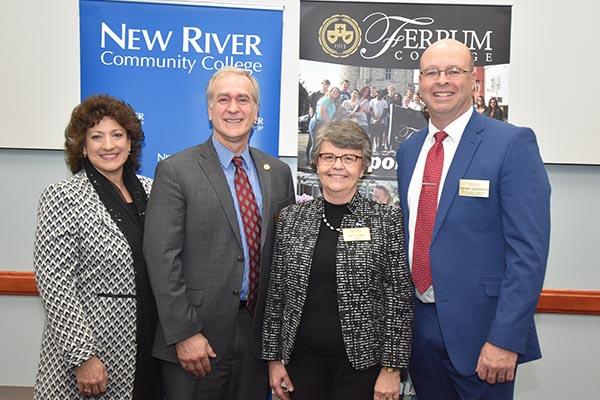 Ferrum College & NRCC Sign Agreement