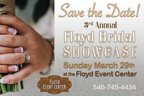 3/29: Floyd Bridal Showcase