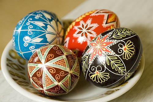 3/21: Ukrainian Easter Egg Class