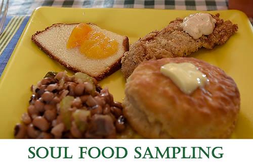 2/22: Soul Food Sampling