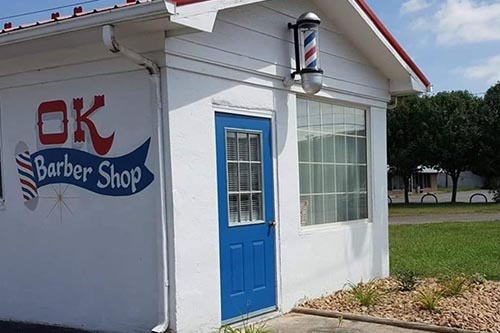 OK Barbershop in Pulaski