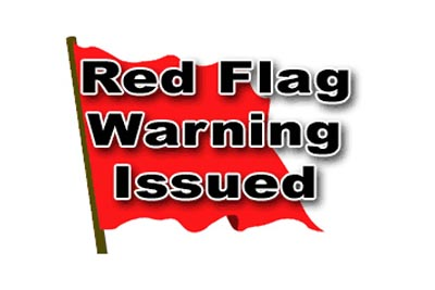 Red Flag Warning for Wind