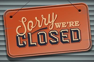 Area Rec Centers and Aquatic Centers closed