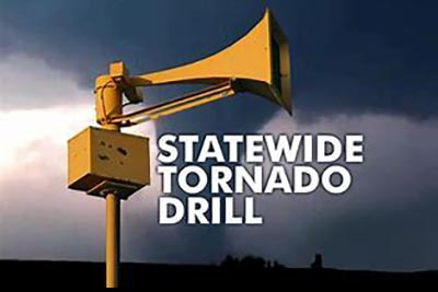 Statewide Tornado Drill Postponed