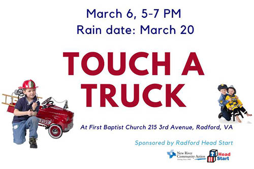 3/6: Touch a Truck