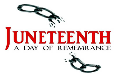 6/19: New State Juneteenth Holiday