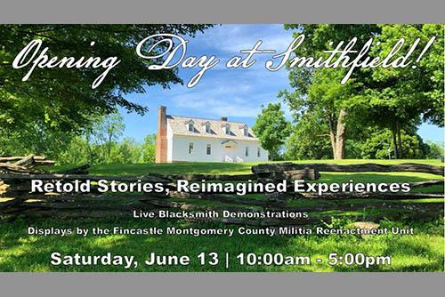 6/13: Historic Smithfield Opening