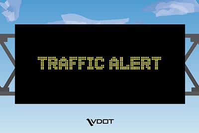 Emergency Right Lane Closure on 460W
