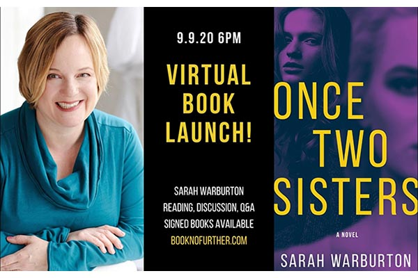 9/8: Virtual Book Launch with Local Author