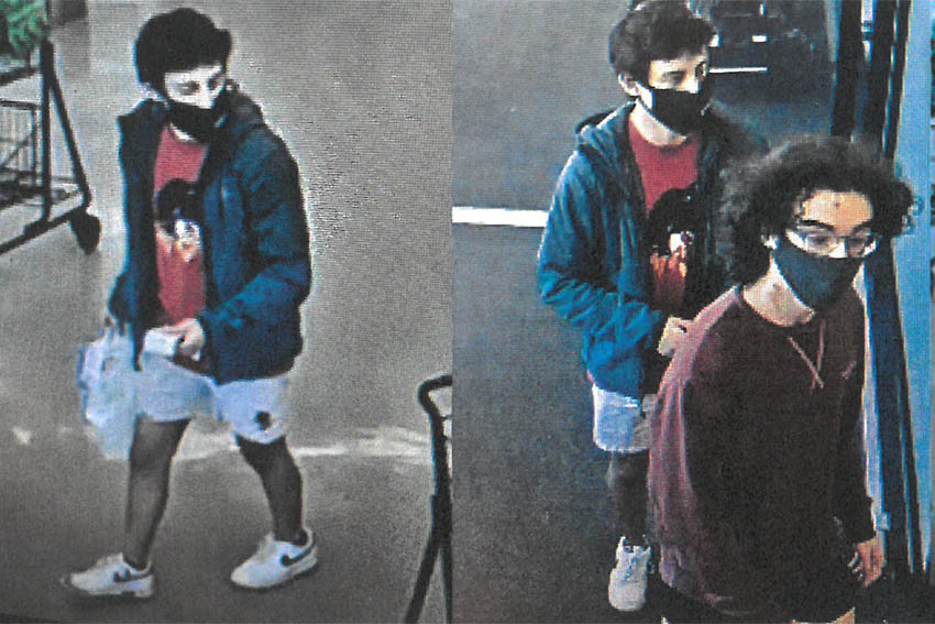 Suspects sought in Credit Card Fraud