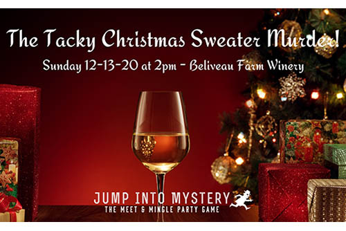 12/13: The Tacky Christmas Sweater Murder!