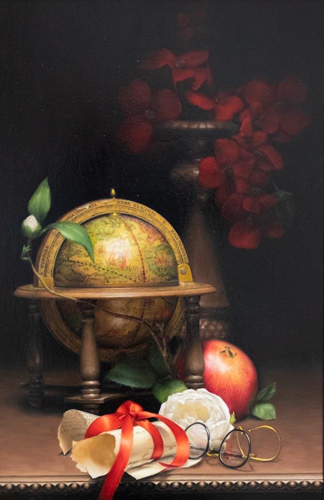 Alexandra Leonetti - Oil - The Globalist