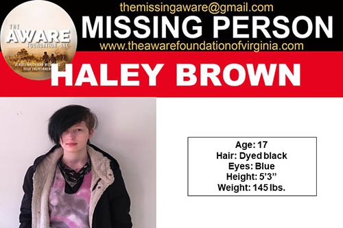 Missing Teen from Charlottesville