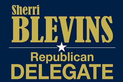 Sherri Blevins Files for Republican Nomination for Delegate