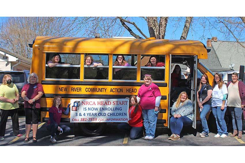 New Head Start Bus for preschoolers