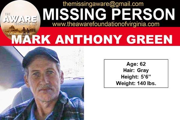 Update: Rich Creek Man Missing