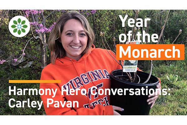 Carley Pavan is a Harmony Hero 3