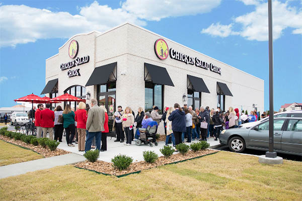 Chicken Salad Chick Grand Opening in Christiansburg 4