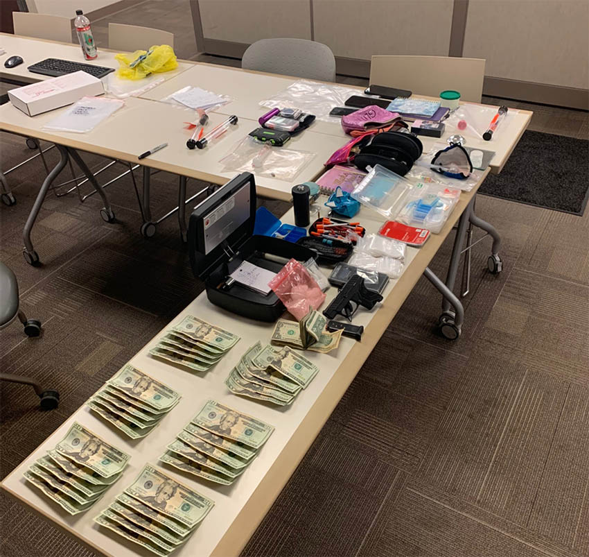 Suspicious vehicle report leads to drug bust 5