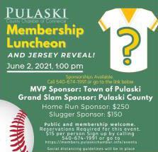6/2: Pulaski County Chamber Luncheon