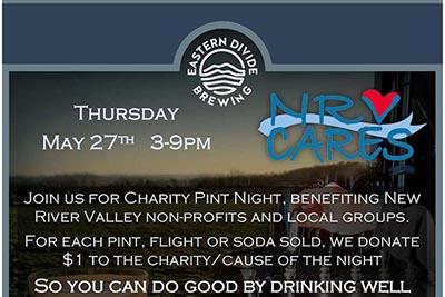 5/27: Charity Pint Night