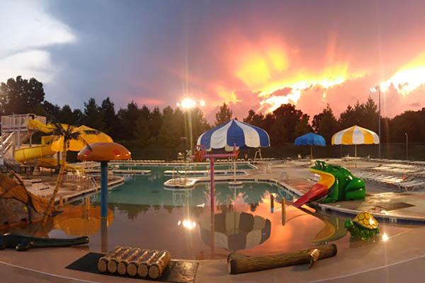 Randolph Park Camp & Pool Plans