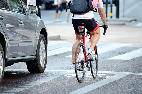 New Law Pertaining to Bicyclists, Motorists