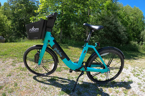 Bike Share Goes All Electric-assist
