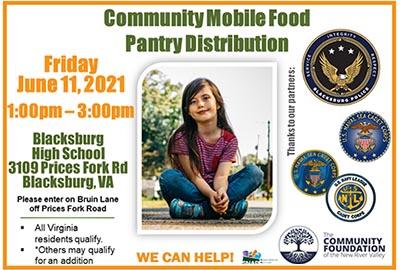 6/11: Community Mobile Food/Pantry Distribution