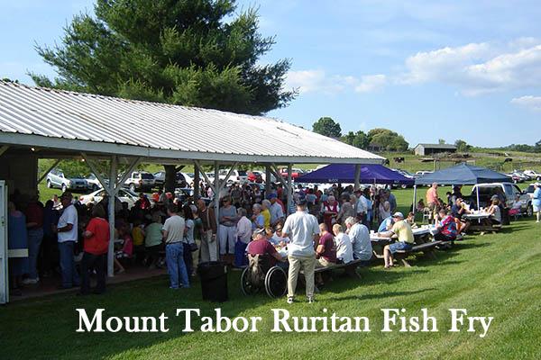 7/10: Mt. Tabor Ruritan Fish Fry