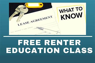 Free Renter Education Workshops 2