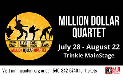 Christiansburg Native to Direct Million Dollar Quartet