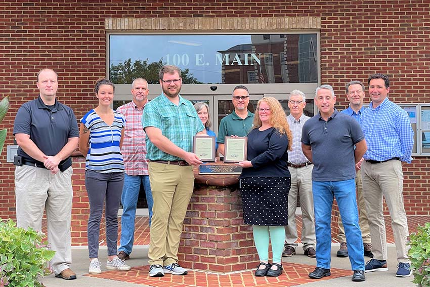 Christiansburg named Locality of the Year 2