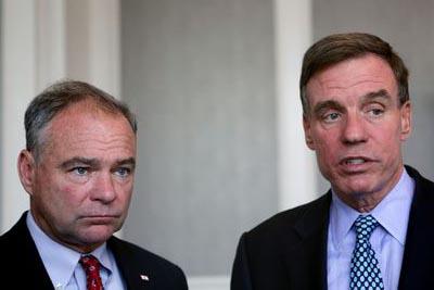 Warner & Kaine Tout Senate Budget Resolution 34