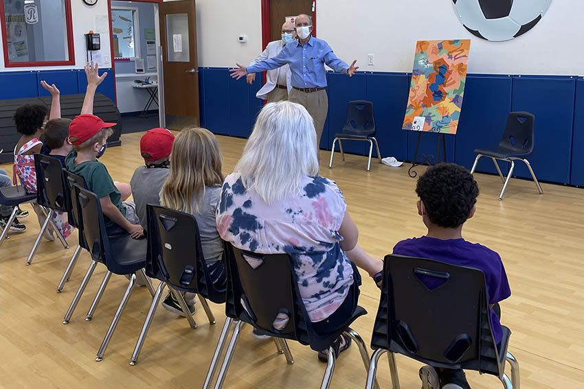 Radford Early Learning Center receives artwork & grant 3