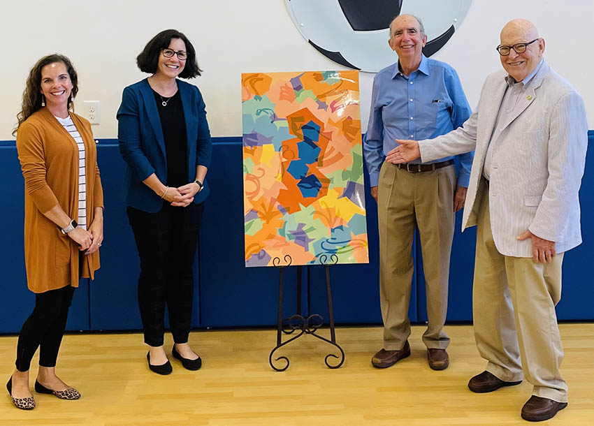 Radford Early Learning Center receives 4 artwork and grant