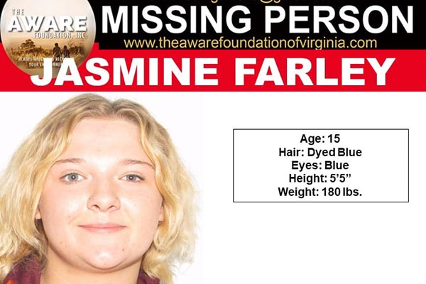 Teen from Christiansburg Missing