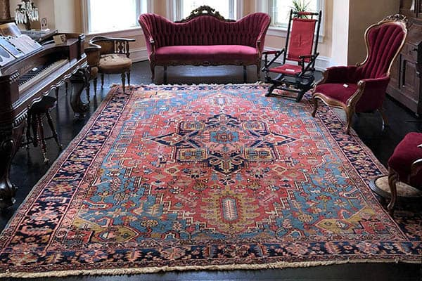 Gift of Beautiful Rugs to Glencoe Mansion