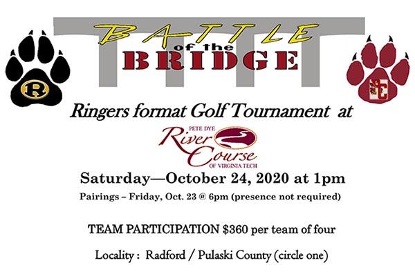 10/24: Battle of the Bridge Golf Tournament