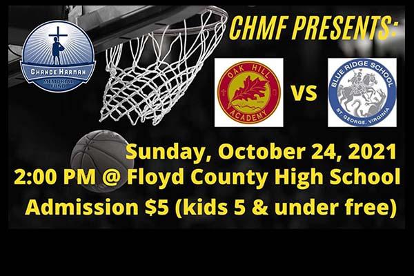10/23: Chance Harman Memorial Tournament